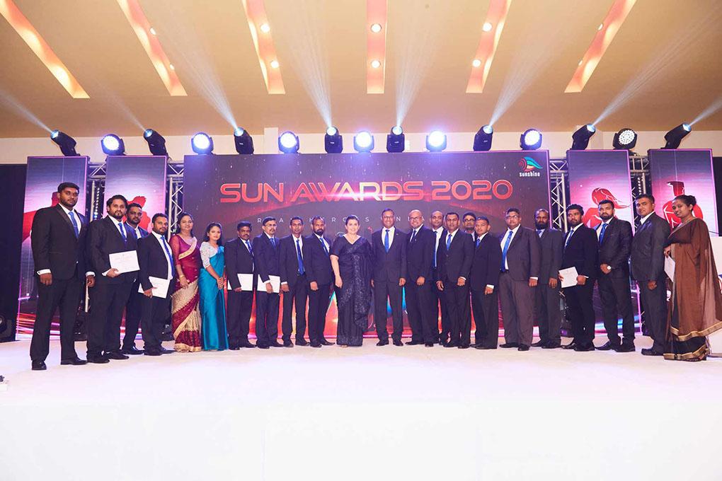 Agri Sector Team at the SUN-Awards 2020